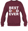 Best Dad Ever Chicago Bears Fan Gift Ideas Sweatshirt image picture photo