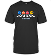 The 8 Bit Pac Man Gaming Funny Abbey Road Graphic T shirt