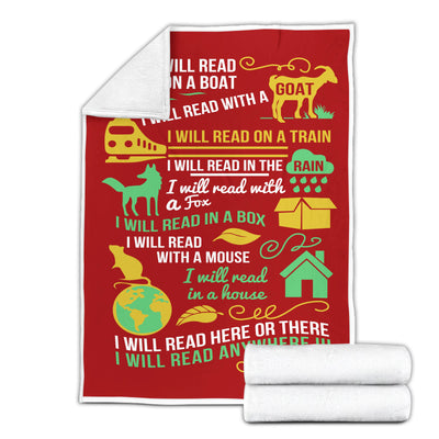 Life Is Good Book Lovers Gift - Christmas Reading Lovers - I Love Reading The Book Was Better - Fleece Blanket