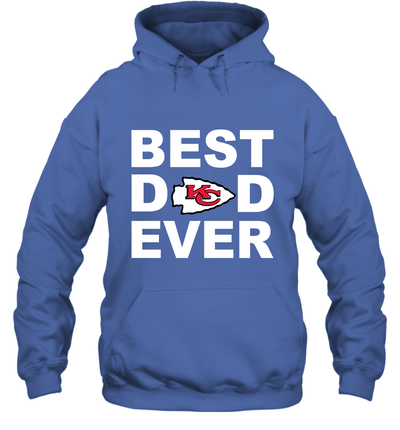 Best Dad Ever Kansas City Chiefs Fan Gift Ideas Hoodie image picture photo