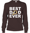 Best Dad Ever Washington Redskins Fan Gift Ideas Long Sleeve image picture photo