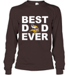 Best Dad Ever Minnesota Vikings Fan Gift Ideas Long Sleeve image picture photo