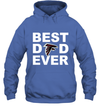 Best Dad Ever Atlanta Falcons Fan Gift Ideas Hoodie image picture photo