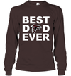 Best Dad Ever Atlanta Falcons Fan Gift Ideas Long Sleeve image picture photo