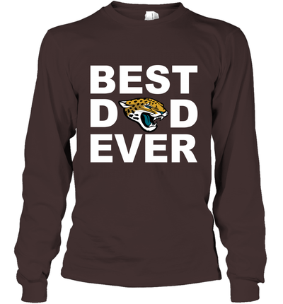 Best Dad Ever Jacksonville Jaguars Fan Gift Ideas Long Sleeve image picture photo