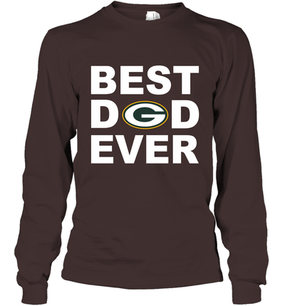Best Dad Ever Green Bay Packers Fan Gift Ideas Long Sleeve image picture photo