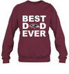 Best Dad Ever Baltimore Ravens Fan Gift Ideas Sweatshirt image photo picture