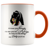 I Will Love You Forever For Always Autism Awareness Mom Mama Bear Premium Accent Mug