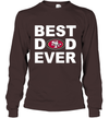 Best Dad Ever San Francisco 49ers Fan Gift Ideas Long Sleeve image picture photo