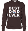 Best Dad Ever Pittsburgh Steelers Fan Gift Ideas Long Sleeve image picture photo