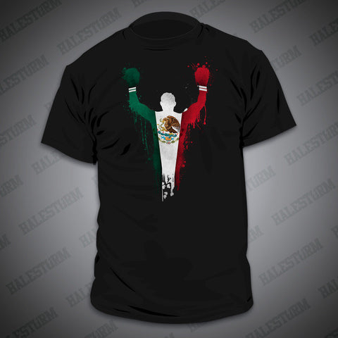Mexican Boxing T-shirt (Black)