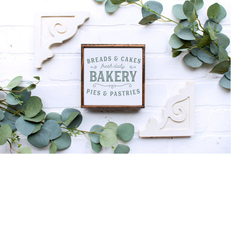DIY Bakery Sign