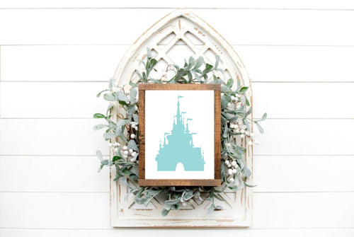 DIY Disney Castle Sign