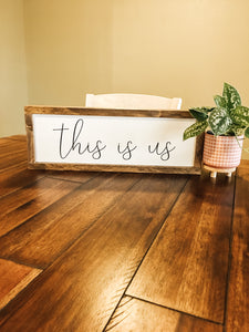 DIY This Is Us Wood Sign