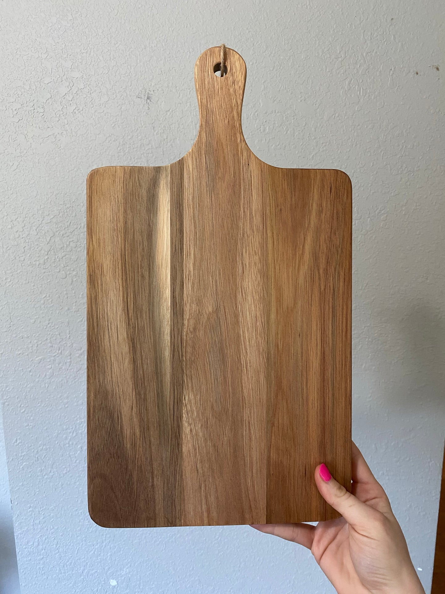 Engraved Handwriting Keepsake Cutting Board