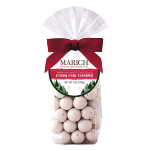 Marich Chocolates™ Dark and White Chocolate Candy Cane Caramels - 7 oz