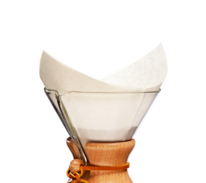 Load image into Gallery viewer, Chemex® Bonded Filters Pre-Folded Squares  - 100 Ct