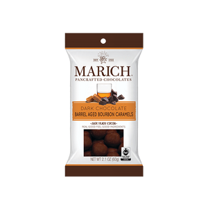 Marich Chocolate™ Barrel Aged Bourbon Caramels 2.1oz