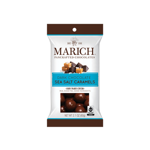 Marich Chocolate™ Dark Chocolate Sea Salt Caramels 2.1oz