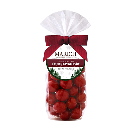 Load image into Gallery viewer, Marich Chocolate™ Holiday Canberries - 7 oz