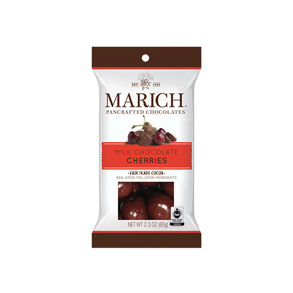 Marich Chocolate™ Milk Chocolate Cherries 2.3oz