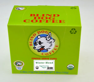 Organic Winter Blend - Single Serve Cups