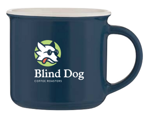 Blind Dog Coffee - Steel Blue Mug (11 oz)