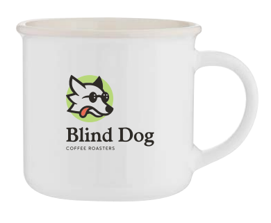 Blind Dog Coffee - White Mug (11 oz)