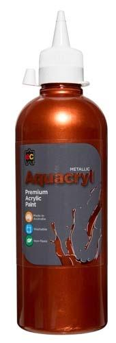 Aquacryl Premium Acrylic 500ml (Arriving Mid March) Edvantage Copper