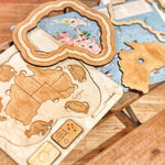 Load image into Gallery viewer, Australia - A Wooden Country, State and Animal Puzzle Plyful