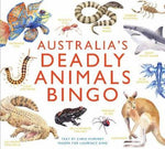 Load image into Gallery viewer, Australia's Deadly Animals Bingo (Arriving End of Jan) Beaglier Books