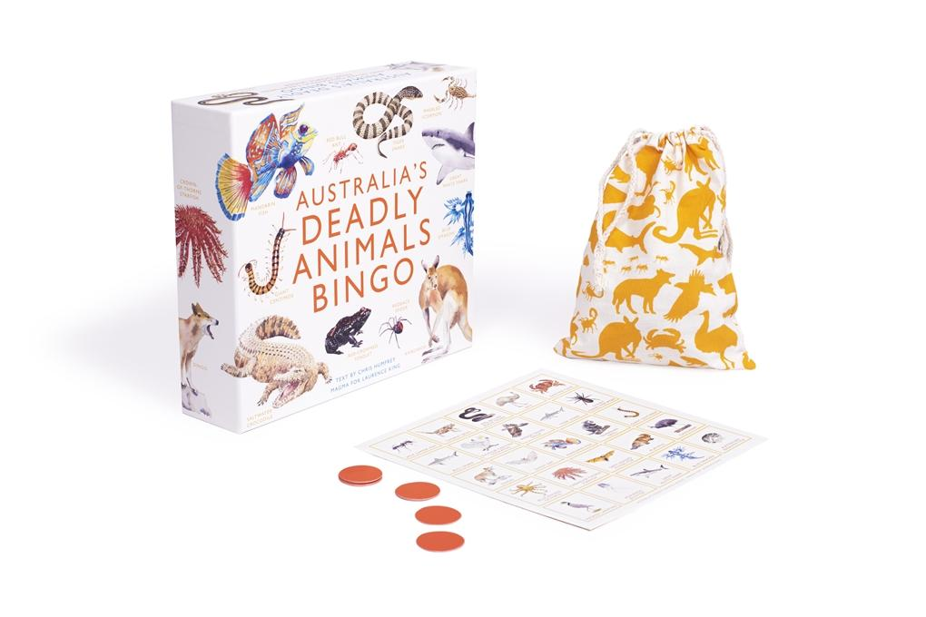 Australia's Deadly Animals Bingo (Arriving End of Jan) Beaglier Books