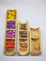 Load image into Gallery viewer, Bamboo Sorting Trays - Set of 3 (Arriving Early Feb) QToys