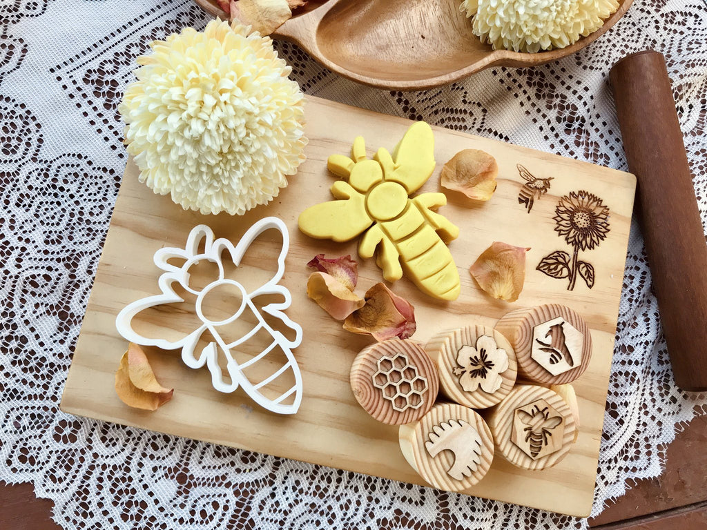 Bee Dough Cutter Beadie Bugs