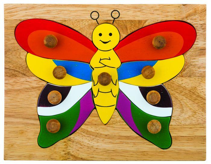 Butterfly Knob Puzzle QToys