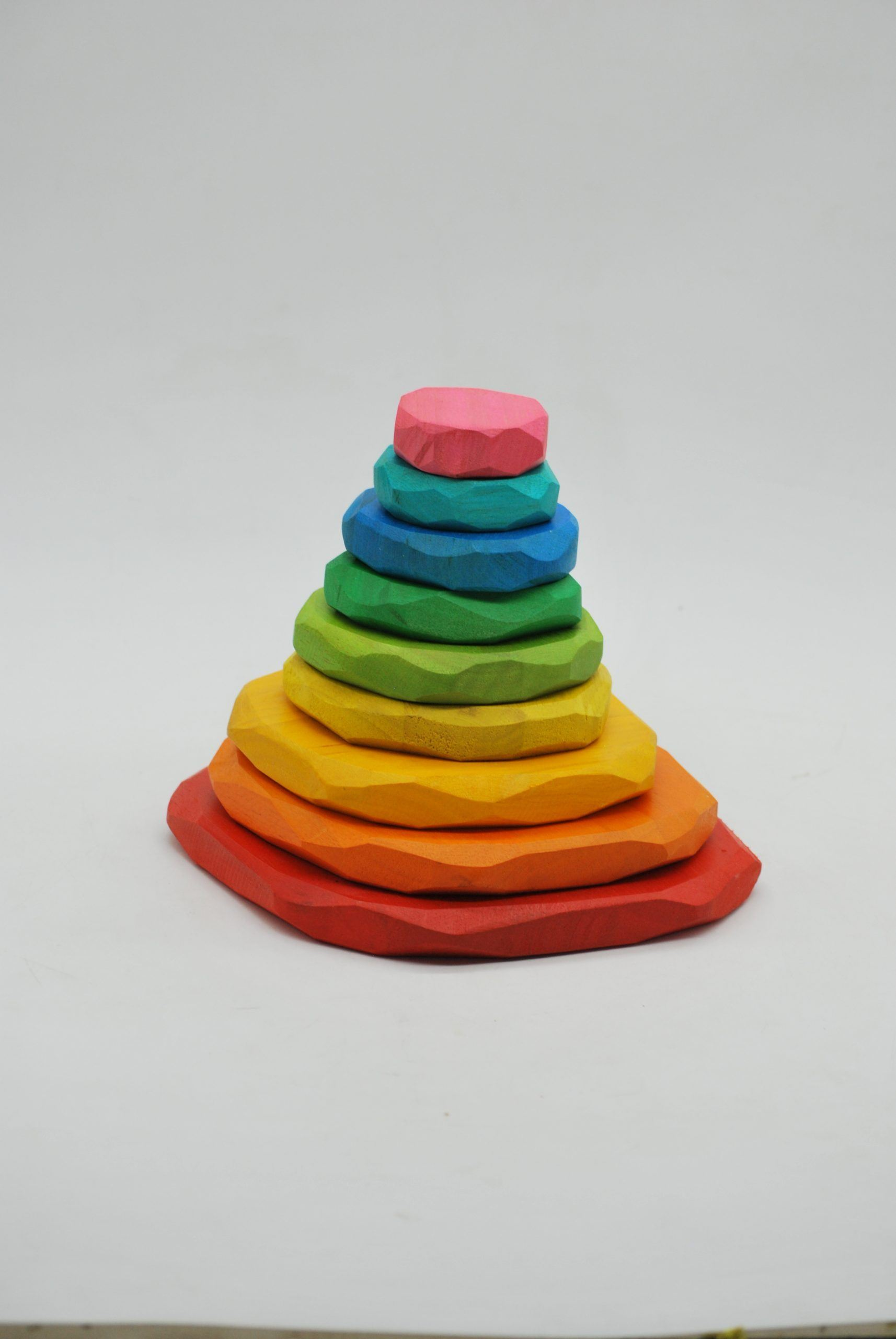 Coloured Stacking Stones (Arriving Early Feb) QToys