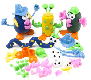 Dough Characters - 52 Pieces Edvantage