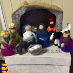 Load image into Gallery viewer, Handmade Nativity Set / 11 Pieces Colours of Australia