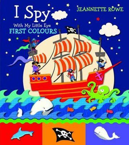 I Spy First Colours (Arriving End of Jan) Beaglier Books