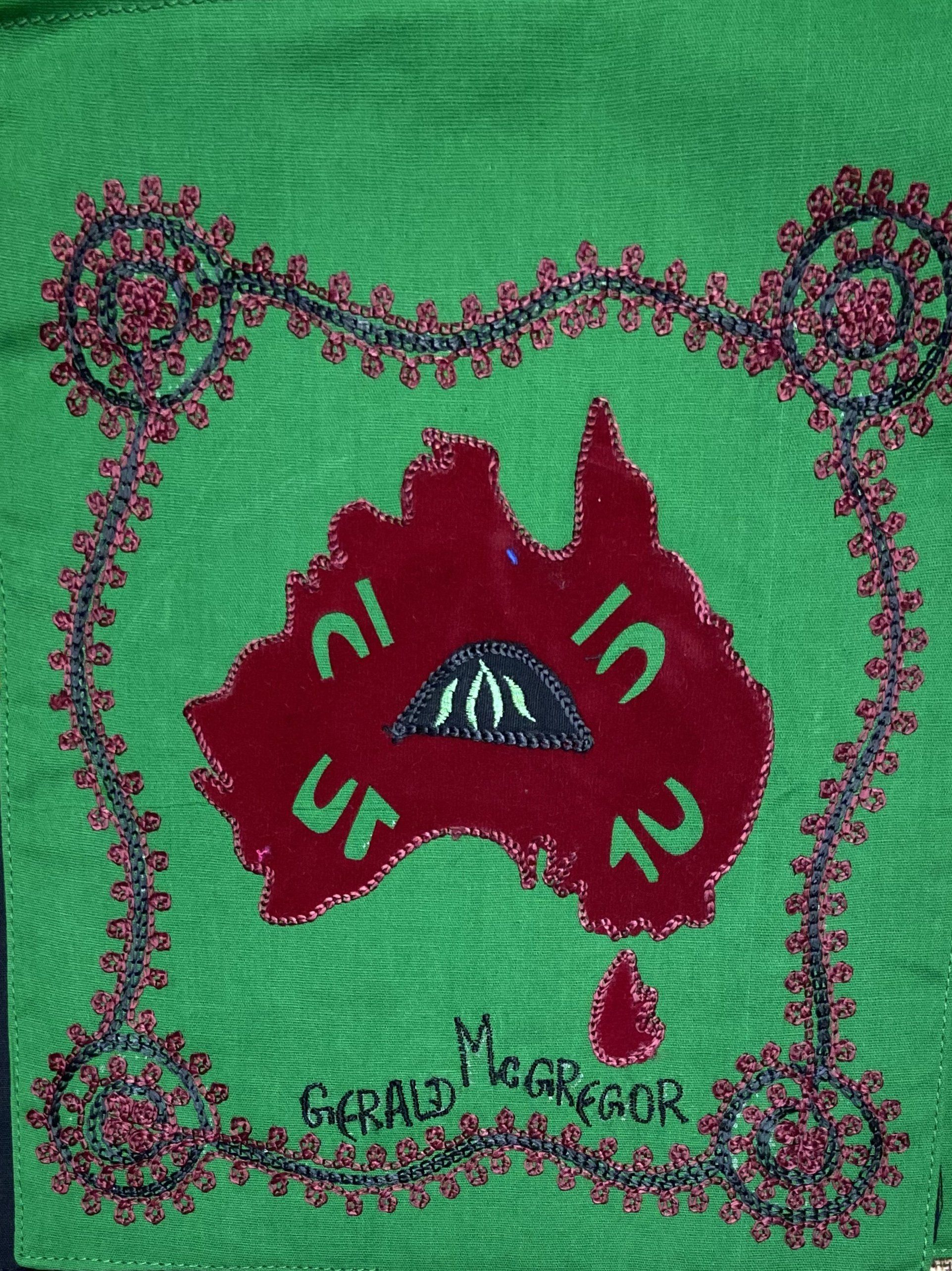 Indigenous Ceremony Symbols Bunting Siham Craft