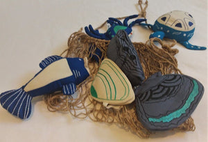 Indigenous Seafood Play Set Siham Craft