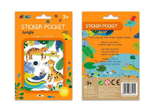 Jungle Sticker Pocket Johnco