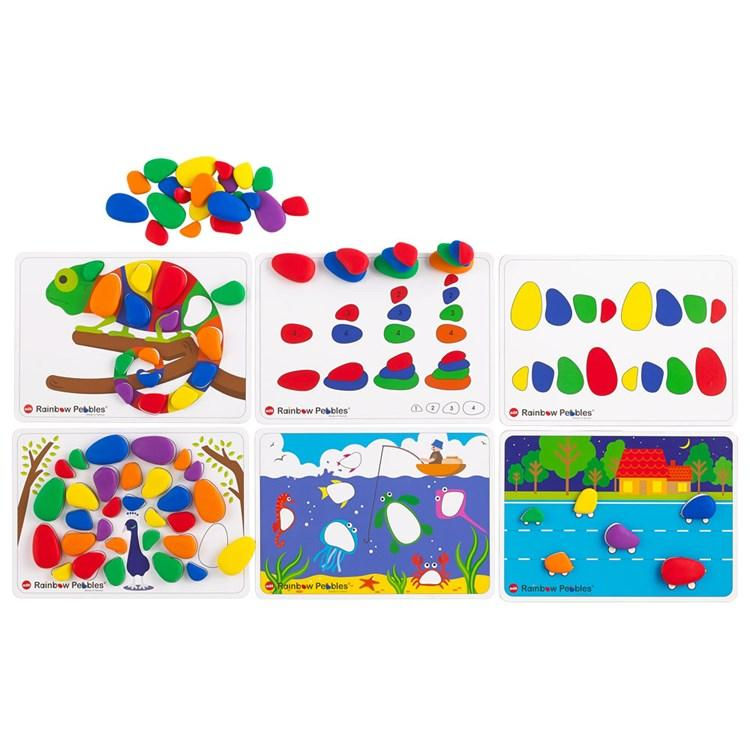 Rainbow Activity Pebble Set Edvantage