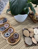 Load image into Gallery viewer, Tamarind Sorting Tray with Wooden Button Collection Inspired Childhood