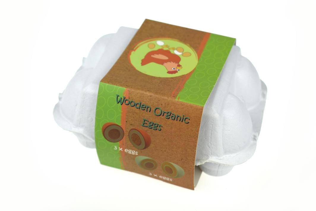Wooden Egg Pack Eleganter