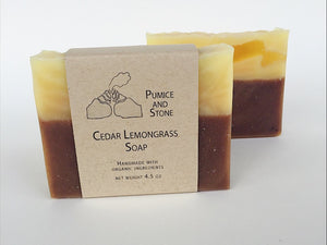 Cedar Lemongrass Soap