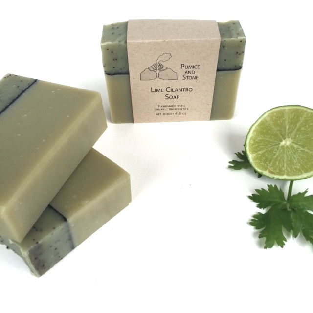 Lime Cilantro Soap