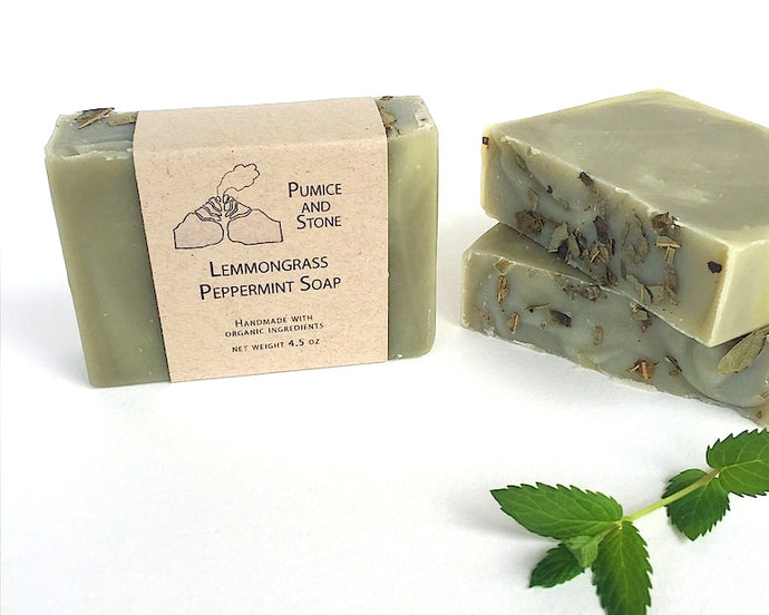 Lemmon Grass Peppermint Soap