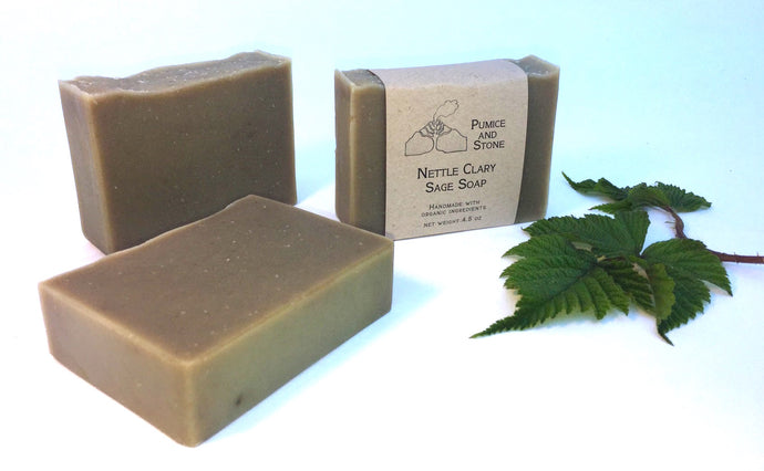 Nettle Clary Sage Soap