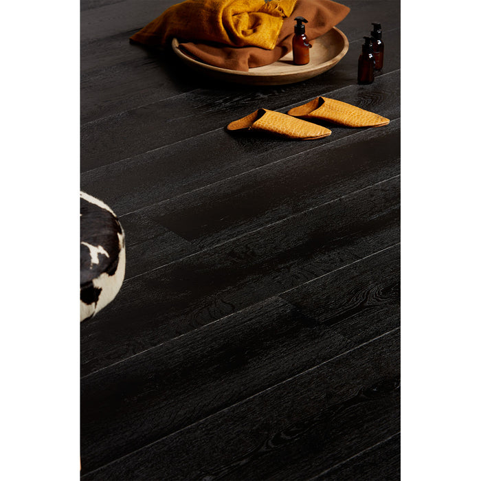 Black Copper engineered hardwood with european white oak 100% made in Spain